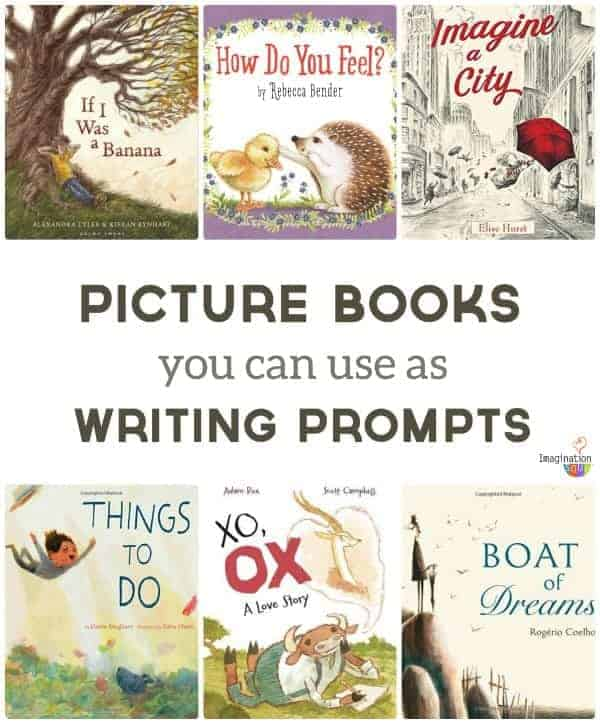 picture books to use as writing prompts