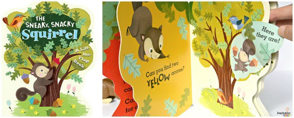 Sneaky Snacky Squirrel Board Book and Game