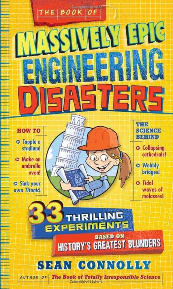 STEM gifts for kids engineering book
