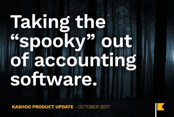 Taking the Spooky out of Accounting Software