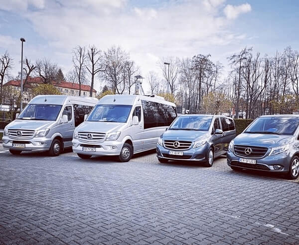 Krakow Shuttle car fleet