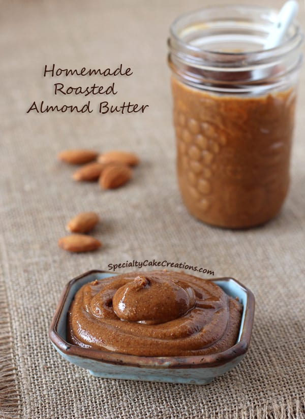 Roasted Almond Butter