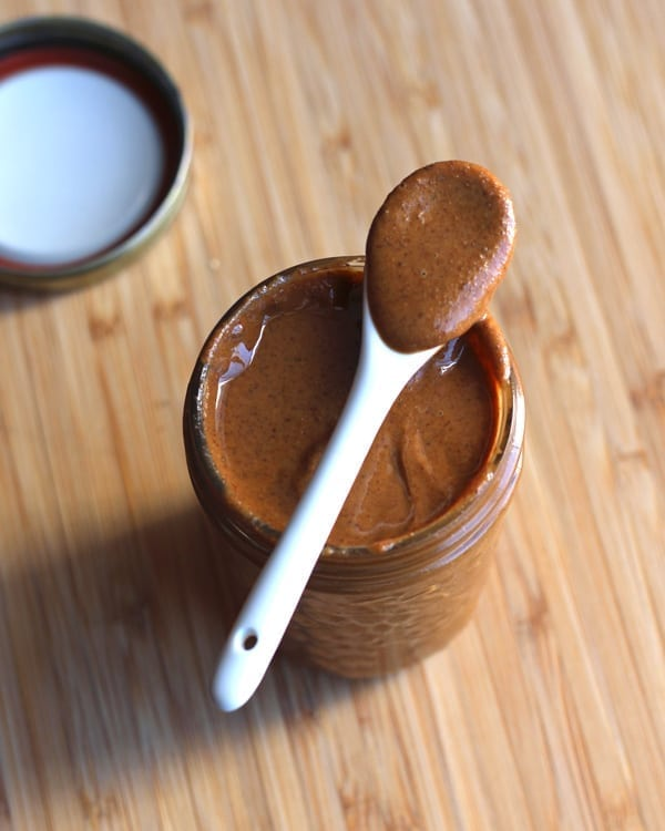 Jar of Roasted Almond Butter