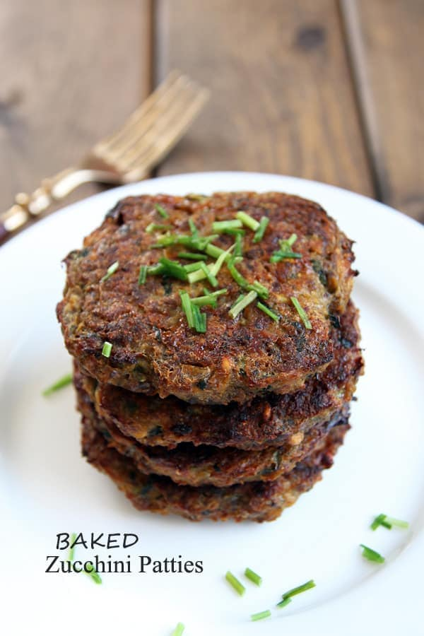 Golden Zucchini Patties