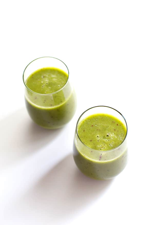 Peach Green Smoothie