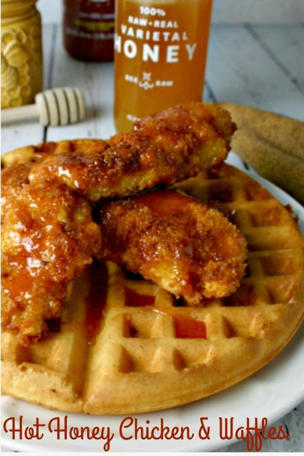 Hot Honey Chicken & Waffles | Life, Love, and Good Food