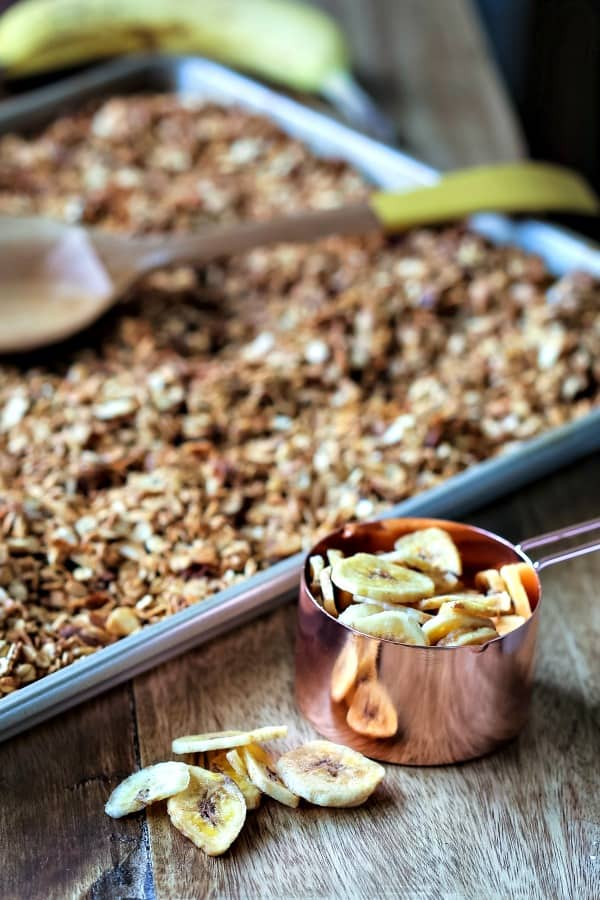 Peanut Butter Banana Granola | Life, Love, and Good Food