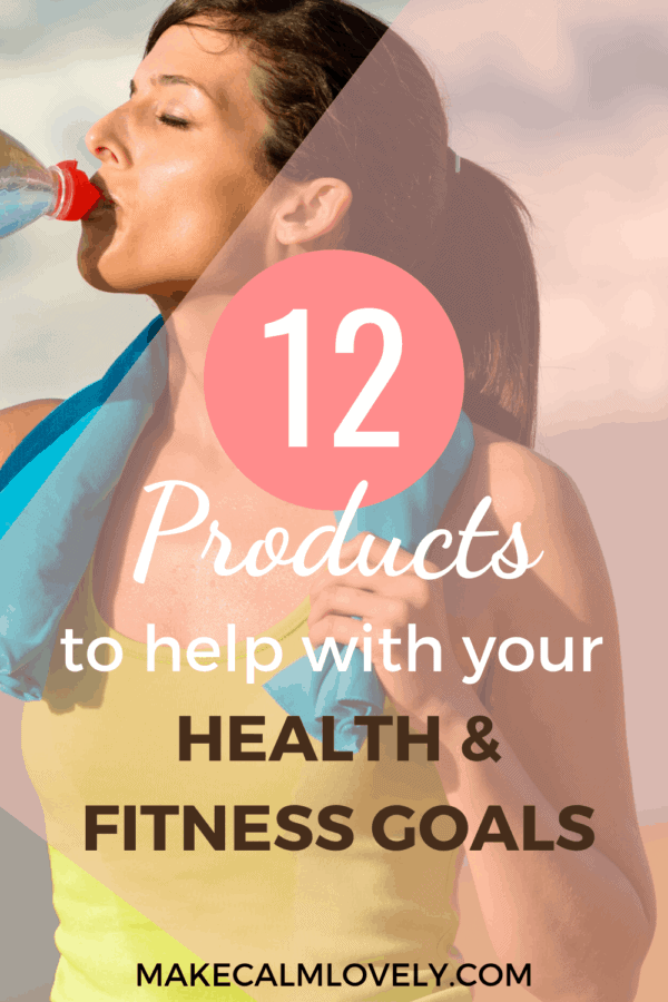 12 products to help you achieve and stick to your health and fitness goals.