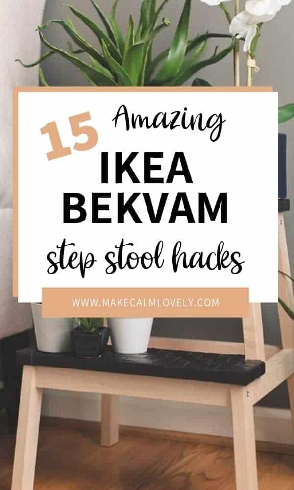 Pleasant 15 Amazing Ikea Bekvam Step Stool Hacks Make Calm Lovely Unemploymentrelief Wooden Chair Designs For Living Room Unemploymentrelieforg