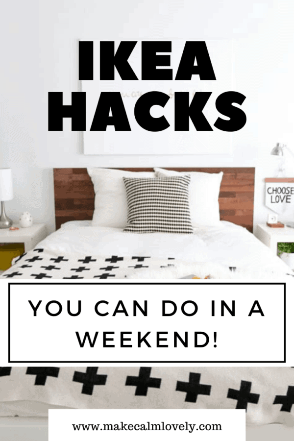 IKEA Hacks you can do in a Weekend #IKEA #IKEA Hacks #weekend DIY