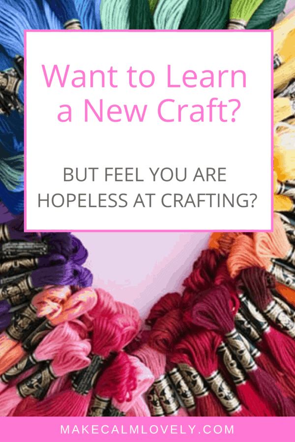 Want to learn a new craft? But don't feel that you are good at crafting? #crafts #crafting #affiliate #Bluprint
