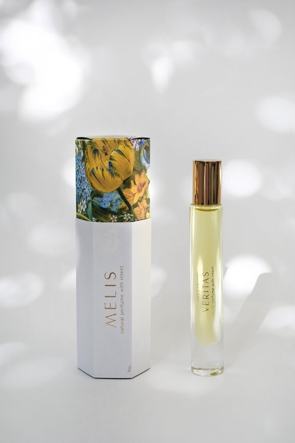 Veritas MELIS natural perfume with packaging