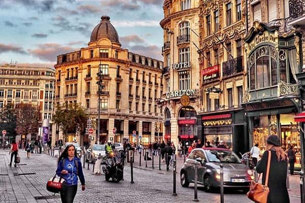 Lille in North France