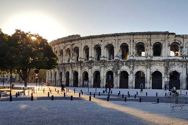 Not rome, but Nimes in France