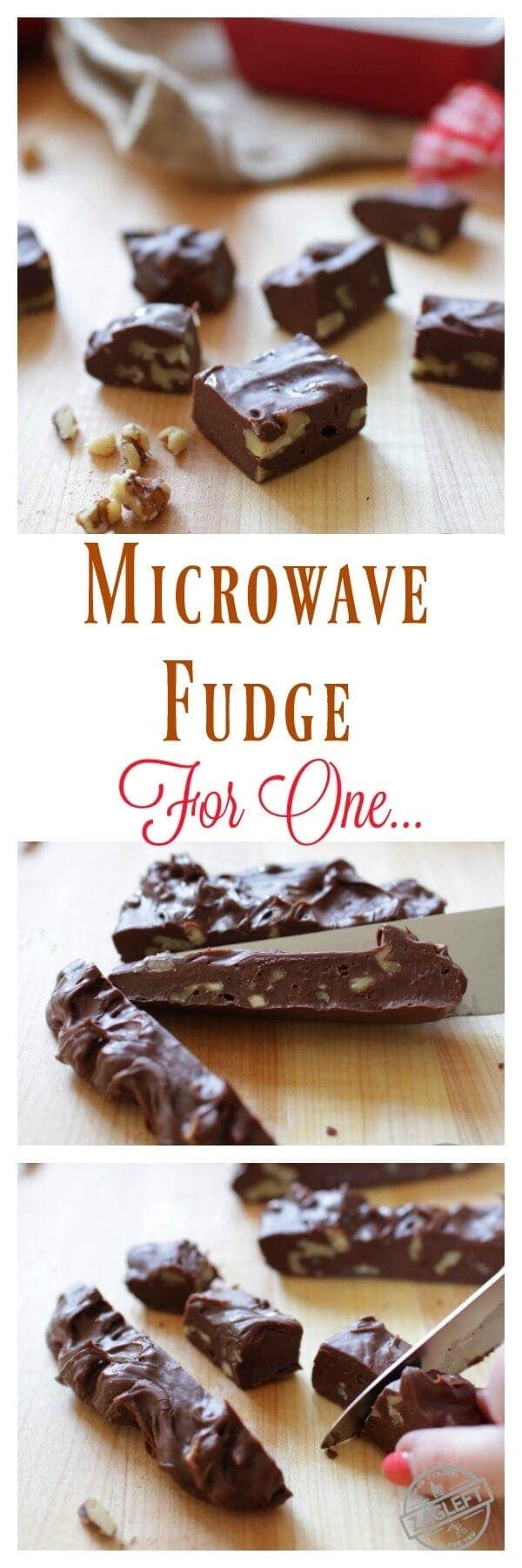 Homemade Microwave Fudge For One – a single serving recipe for rich, smooth, incredible chocolate fudge. One bowl and a microwave is all you need to make this scaled down version of my favorite fudge recipe! | onedishkitchen.com