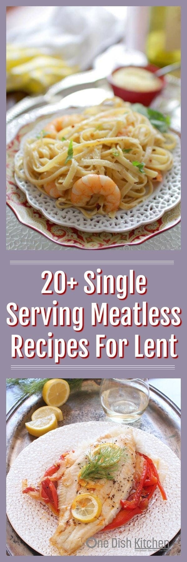 single serving meatless recipes