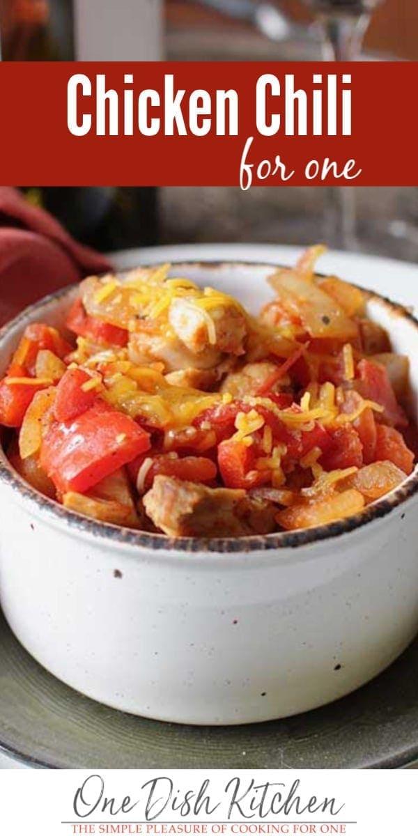chicken chili | one dish kitchen