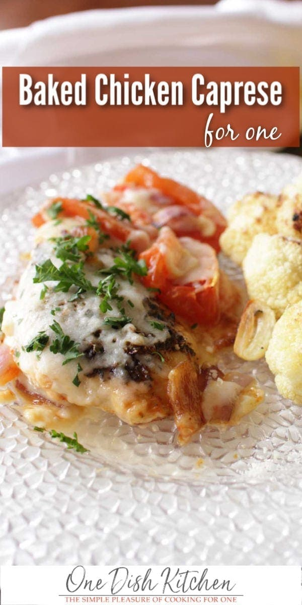 caprese chicken | one dish kitchen