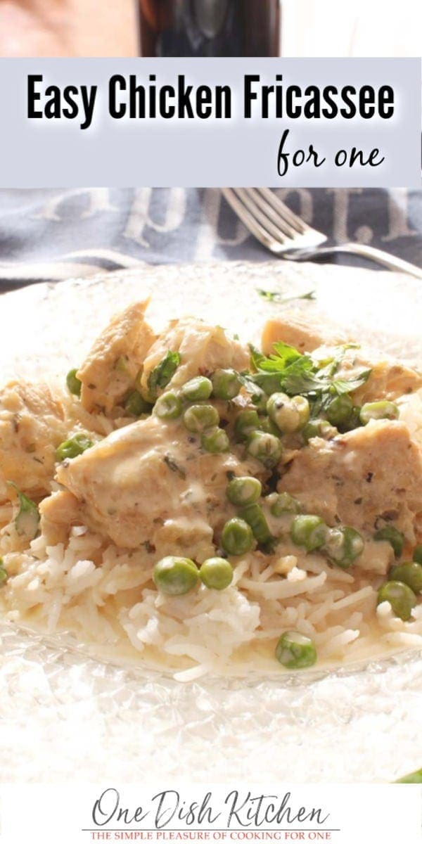 chicken fricassee | one dish kitchen