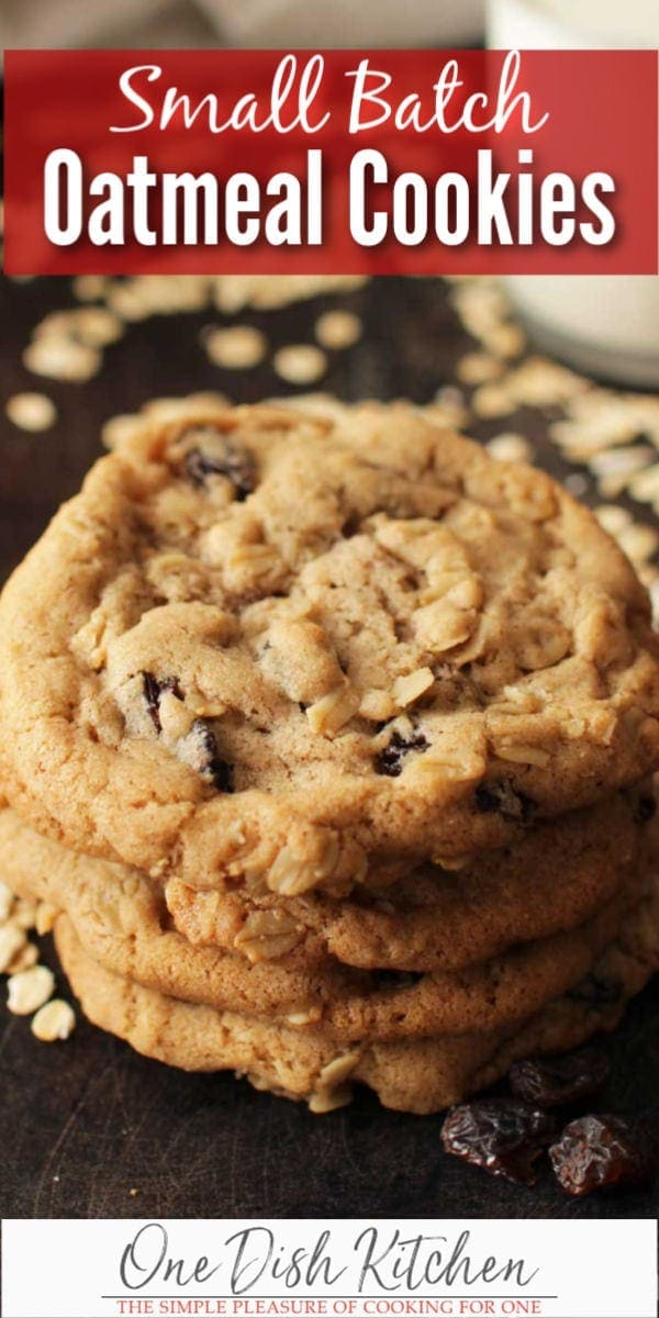 oatmeal cookies   one dish kitchen