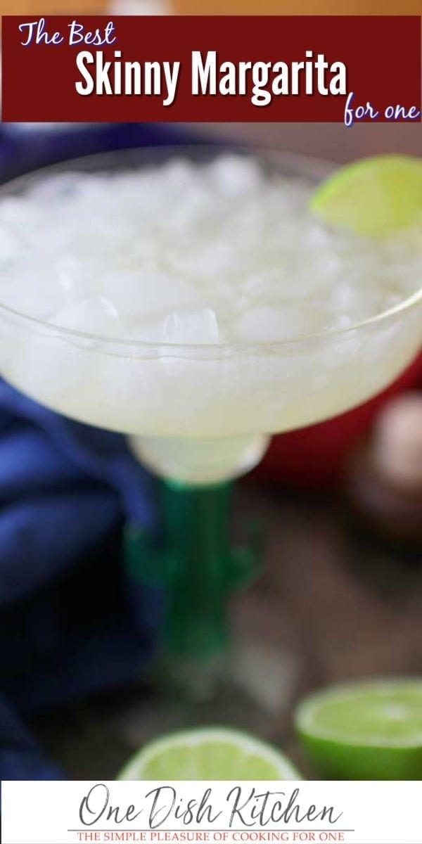 margarita in a glass | one dish kitchen