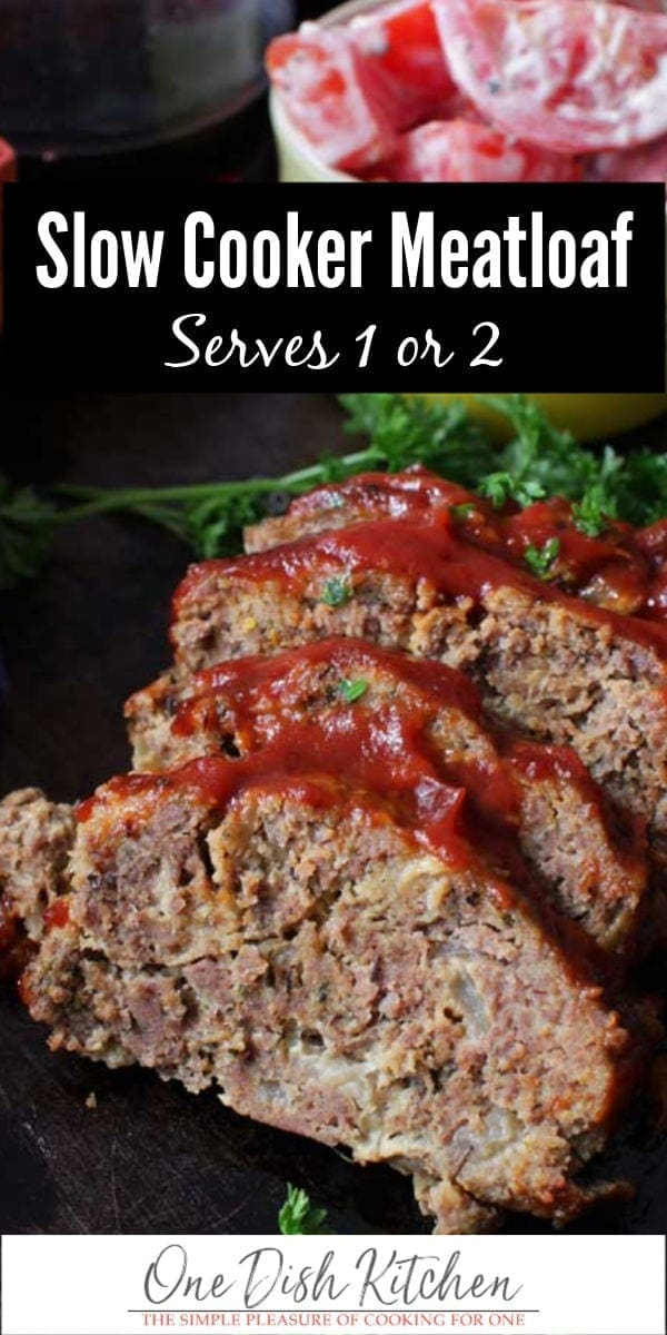 slow cooker meatloaf | one dish kitchen