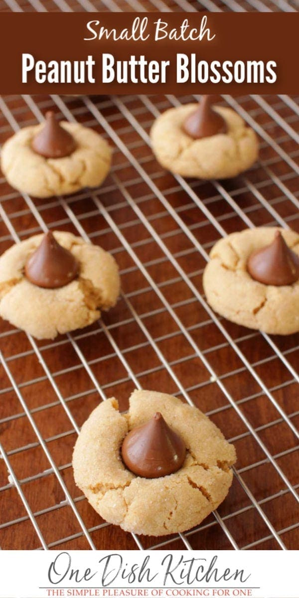 peanut butter blossoms | one dish kitchen