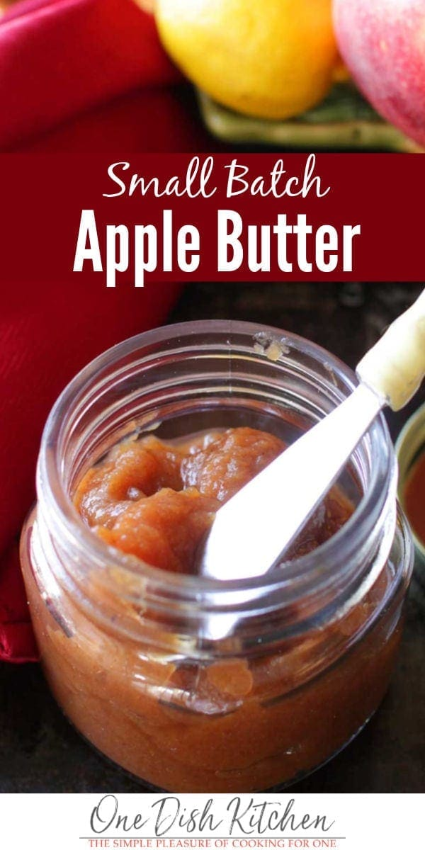 slow cooker apple butter | one dish kitchen