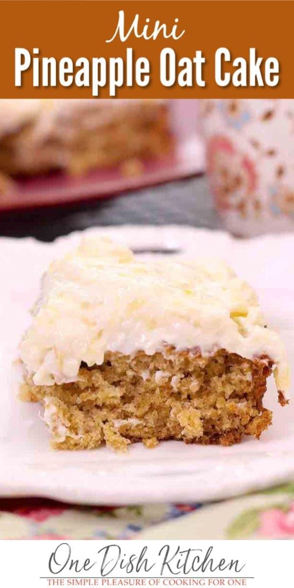 pineapple oat cake   one dish kitchen