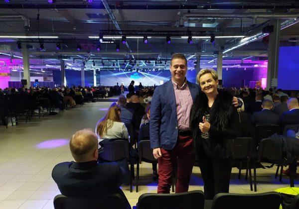 Daria Dzieszuk konferencja z mężem