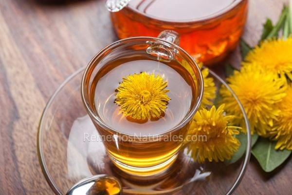 té de diente de león