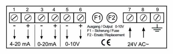 Differenzdruckmessgerät mit Messumformerausgänge - MU-Analog-65