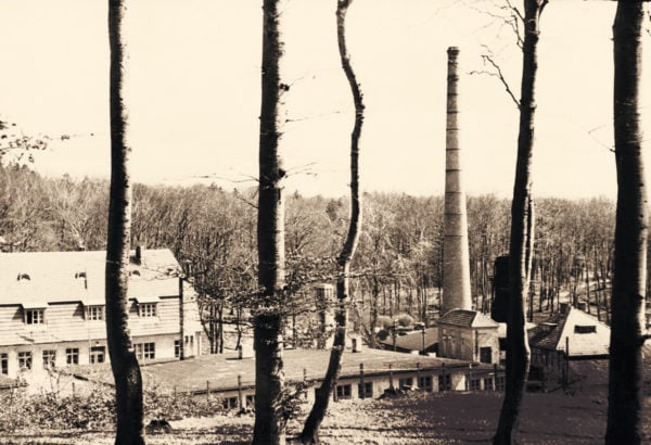 A prominent landmark, the high chimney, 1951, © City Archives and City Library Sassnitz