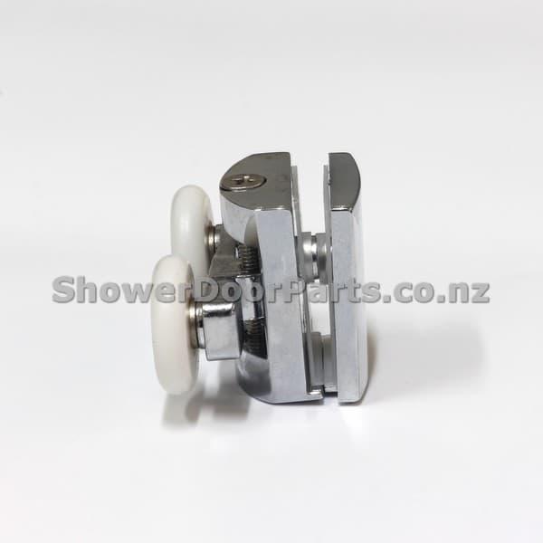 NOT3 double shower door rollers view 1