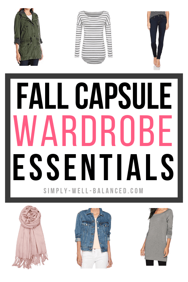 Fall Capsule Wardrobe Essentials
