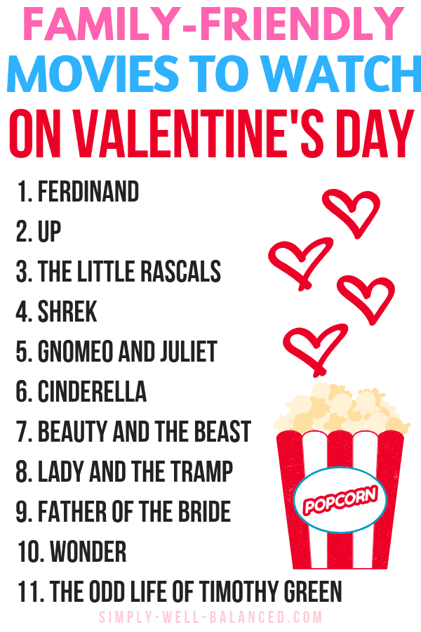 The Best List of Family Friendly Valentine's Day Movies for Kids