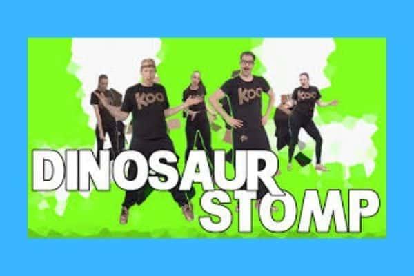 Koo Koo Kanga Roo Dinosaur Stomp song