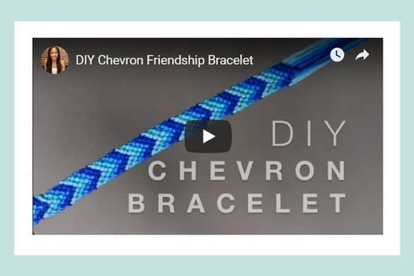 DIY Chevron Bracelet Pattern