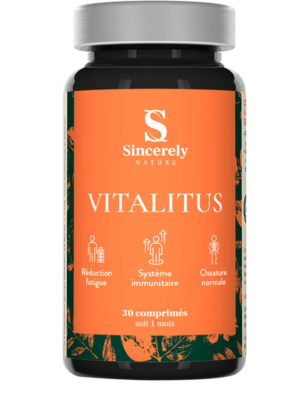 Produit Vitalitus - Multivitamines