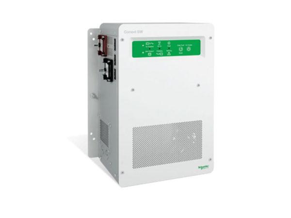 Solaire Laurentides - Onduleur/chargeur Schneider Conext SW 4024, 3.4kW - 120/240Vac - 50/60 Hz - 24Vcc, chargeur 90A