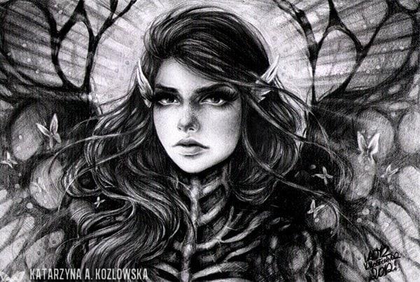 Pencil Drawings by Katarzyna A. Kozlowska