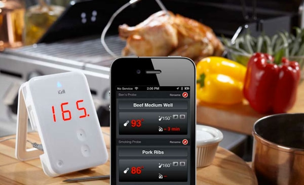 WIN a Wireless iGrill Bluetooth® Meat Thermometer