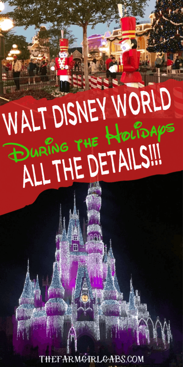 Mickey's Very Merry Christmas Party will once again headline all of the festivities for the Disney World 2019 Christmas Season. #DisneyChrismtas #DisneyTips #DisneyPackingList