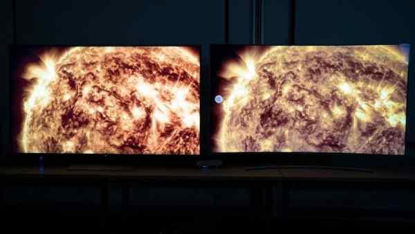 độ tương phản của máy chiếu 2