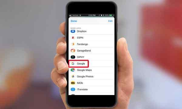 làm thế nào để truy cập google trên ios messenger và safari - 1