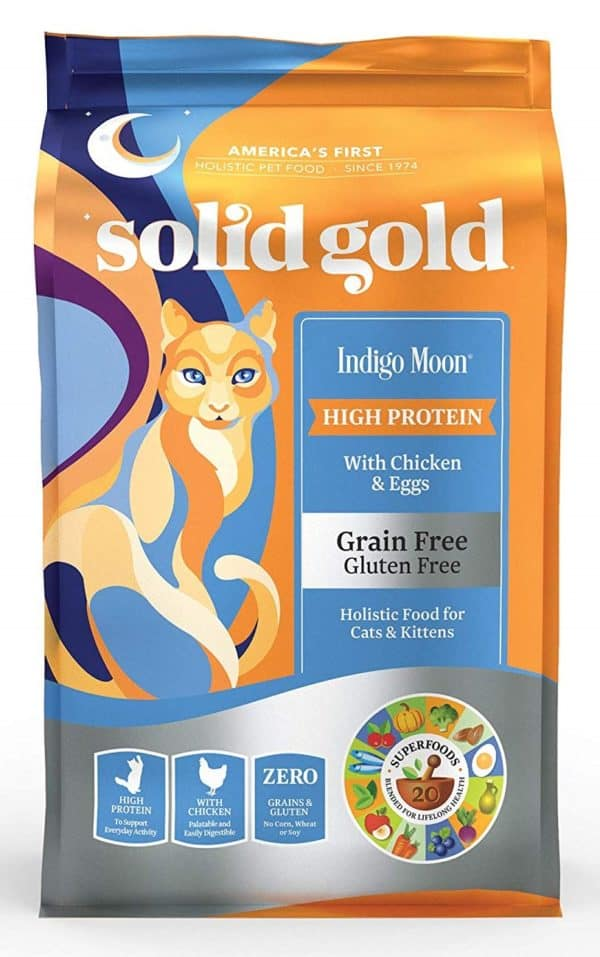 Solid Gold High Protein Dry Cat Food