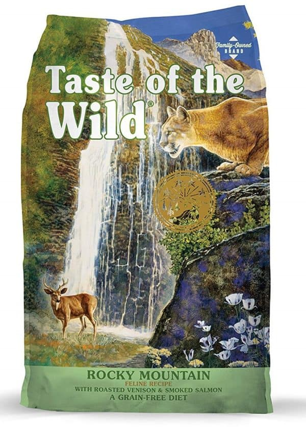 Taste of the Wild Grain Free High Protein Real Meat Recipe Premium Dry Cat Food