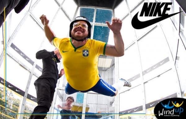 Nike voa com camisa da seleção brasileira ventilada