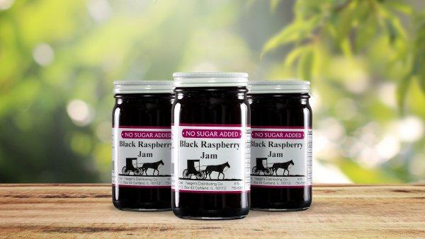 No Sugar Added Black Raspberry Jam
