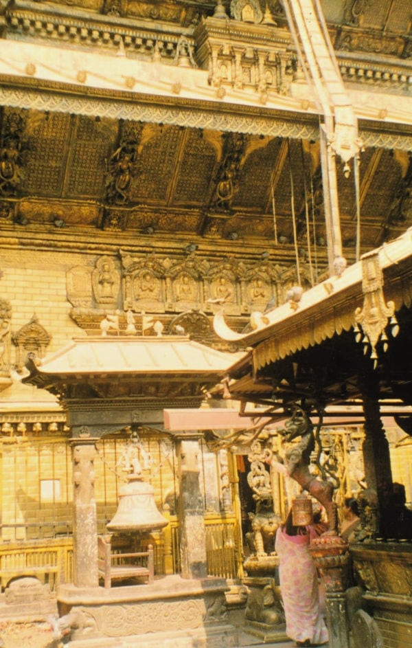 Golden Temple Kathmandu Old Photo